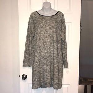 Paraphrase Sweatshirt material dress EUC